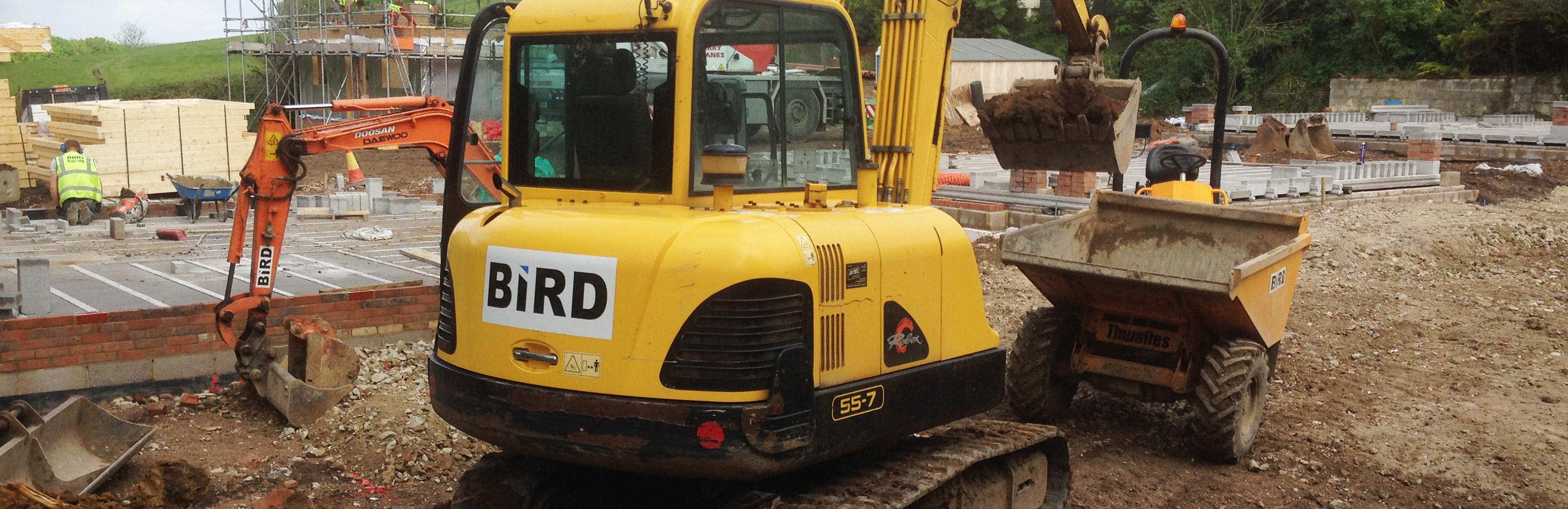 Operated Excavator Hire