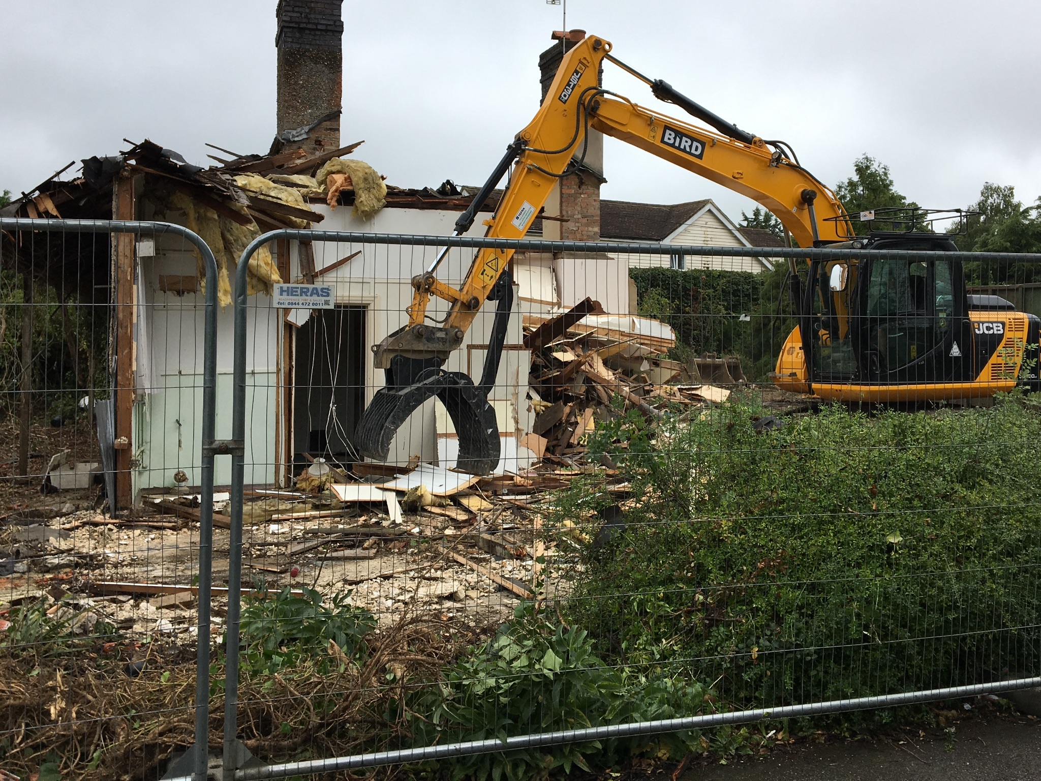 Demolition service in Kent and East Sussex